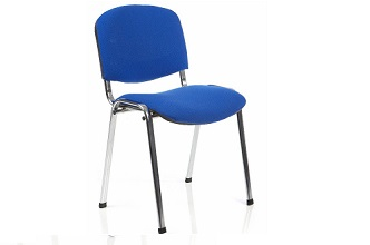 4 leg stacking chair, ideal for conference rooms, meeting rooms, waiting rooms, canteens, receptions and more