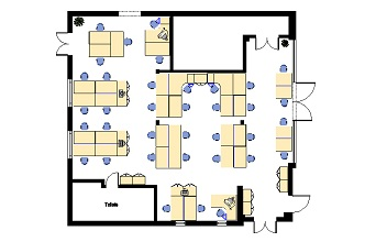 Free CAD office space planning from Mardel Office Interiors