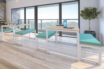 New range of breakout seating and workspace available now.